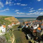 """The Seaside Village of Staithes (40347-RDA)"" by rodjohnson"