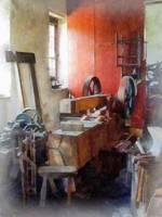 Blacksmith Shop Near Windows