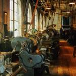 """Heavy Machine Shop"" by susansartgallery"