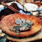 """Colonial Coins"" by susansartgallery"