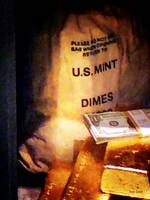 Dimes Dollars And Gold