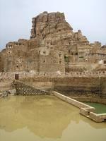 The renovated Jadaan cistern in Yemen is built of