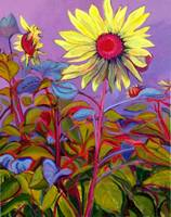 Sunflower Standout_20x16 Acrylic on Canvas_by Susa