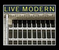 Live Modern Poster