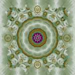 """Soft And Sweet Lotus Floral In greens"" by PepitaSelles"