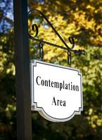 Contemplation and Soul Searching Area