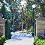 Balboa Park - Gate to the Archery Range by RD Riccoboni