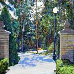 """Balboa Park - Gate to the Archery Range"" by BeaconArtWorksCorporation"