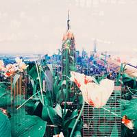 Empire State Double Exposure