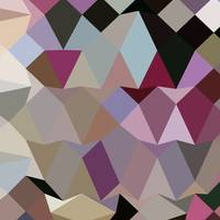 Antique Fuschia Abstract Low Polygon Background