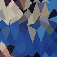 Bluebonnet Abstract Low Polygon Background