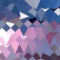 Celestial Blue Abstract Low Polygon Background