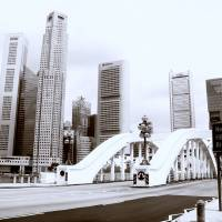 City Singapore through the Lens, Monochrome Art Prints & Posters by Stamford Photography and Design
