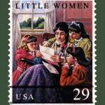 """Little Women Stamp"" by WilshireImages"