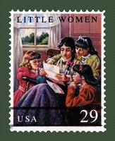 Little Women Stamp