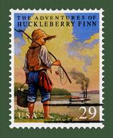 Adventures Of Huckleberry Finn Stamp