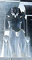 Full-Size Seated Pharaoh