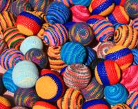 Knit Balls in Many Colors
