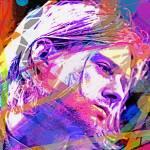 """Kurt Cobain 27"" by DavidLloydGlover"