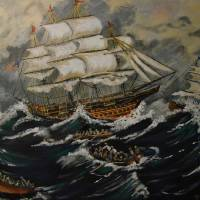 Back To The Ship Art Prints & Posters by YVONNE BREEN