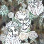 """""""1985 painting greek philosophers camproductions"""" by CAMProductions"""