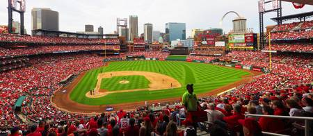 Busch Stadium Day Game 2015