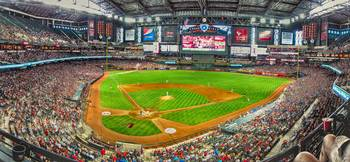 Indoors at Chase Field