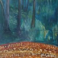 Gedenken2 Art Prints & Posters by Susan Weinberg
