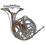 """French Horn"" by maryostudio"
