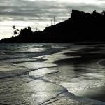 """Crisscrossing Surf Oahu"" by LeonSarantosArtist"