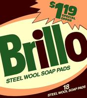 Brillo Box Package Colored 4 - Warhol Inspired
