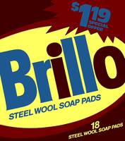 Brillo Box Package Colored 8 - Warhol Inspired