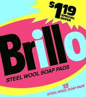 Brillo Box Package Colored 12 - Warhol Inspired
