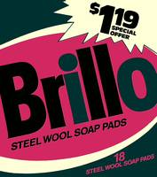 Brillo Box Package Colored 24 - Warhol Inspired