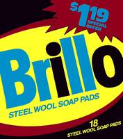 Brillo Box Package Colored 25 - Warhol Inspired