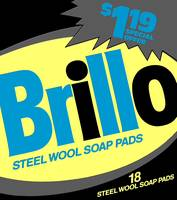 Brillo Box Package Colored 34 - Warhol Inspired