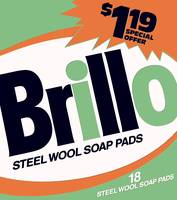 Brillo Box Package Colored 36 - Warhol Inspired