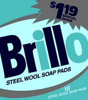 Brillo Box Package Colored 35 - Warhol Inspired