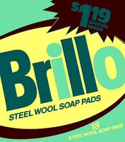 Brillo Box Package Colored 38 - Warhol Inspired