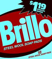 Brillo Box Package Colored 29 - Warhol Inspired