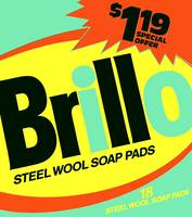 Brillo Box Package Colored 40 - Warhol Inspired