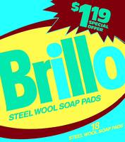 Brillo Box Package Colored 48 - Warhol Inspired