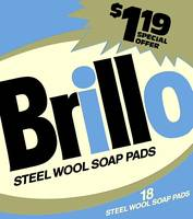 Brillo Box Package Colored 50 - Warhol Inspired
