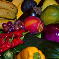 Vegetables and fruit Art Prints & Posters by Robert Estes