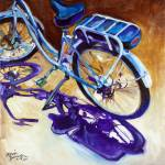 """THE CRUISER a Beloved Bike"" by MBaldwinFineArt2006"