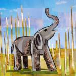 """Trumpeting Elephant"" by megancoyle"