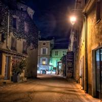 bonnieux at night Art Prints & Posters by Jody Miller