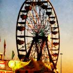 """Ferris Wheel at Night"" by susansartgallery"