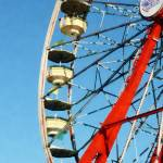 """Ferris Wheel Closeup"" by susansartgallery"