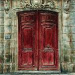 """Parisian Door No.20"" by JoeyAgbayani"